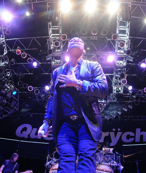 Queensryche performs at the House of Blues in Las Vegas