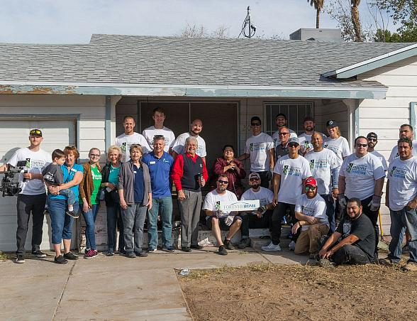 Rebuilding Together Southern Nevada Revitalized Eight Homes on Make a Difference Day