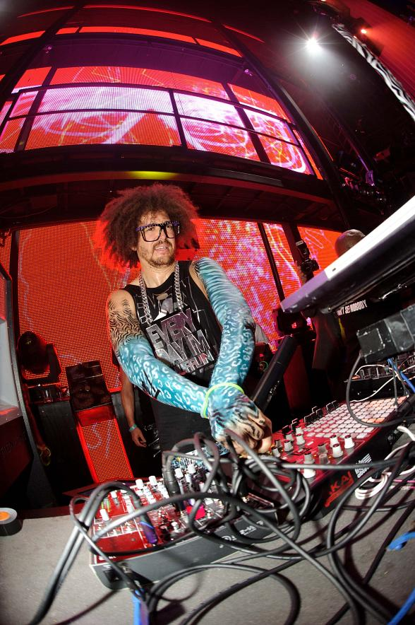 Redfoo at Marquee Party Rock Monday