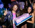 Redfoo with cake at LAVO