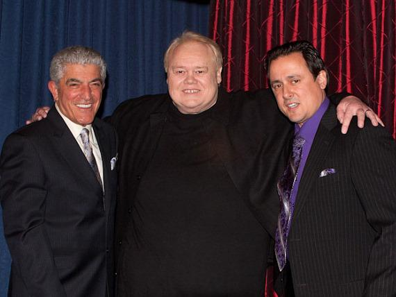 Frank Vincent, Louie Anderson and Angelo Giordano