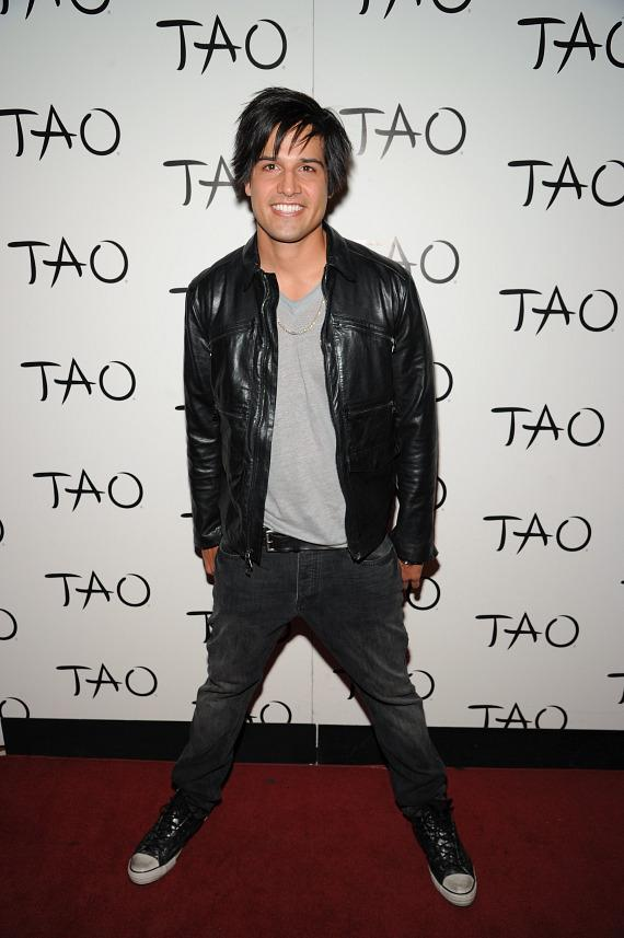 Ricardo Laguna on TAO red carpet