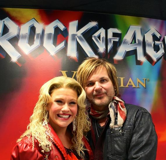 Carrie St. Louis with Rikki Rockett