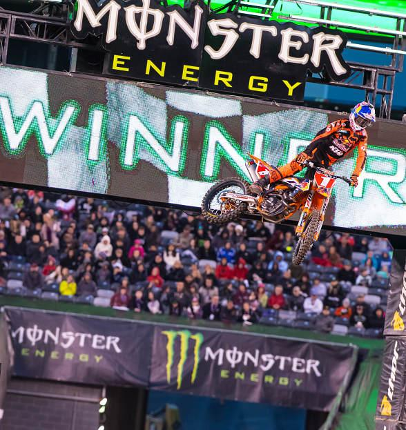 2017 Monster Energy Supercross Races into Las Vegas in May 2017