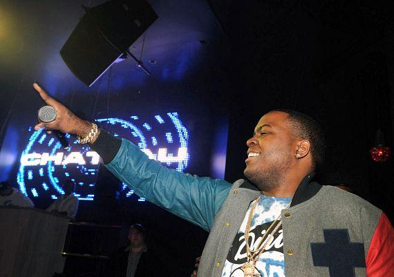 Sean Kingston performs at Chateau Nightclub & Gardens in Las Vegas