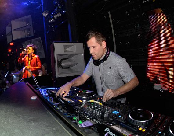 Skylar Grey and Kaskade at Marquee Nightclub