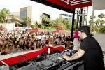 Steve Angello of Swedish House Mafia performs at WET REPUBLIC Closing Party