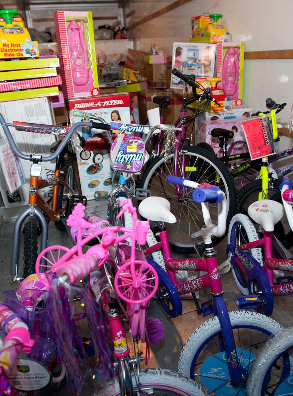 TAO Group fills KLUC toy drive truck