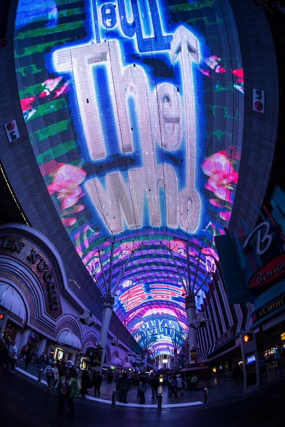 """""""The Who – Miles Over Vegas"""" New Viva Vision Show Debuts at Fremont Street Experience"""