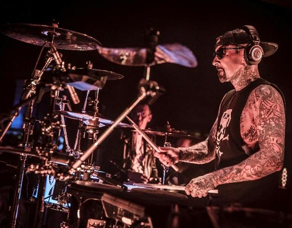 Travis Barker and Grammy Award-Winning Producer Bryan-Michael Cox Celebrate Memorial Day Weekend at Hyde Bellagio