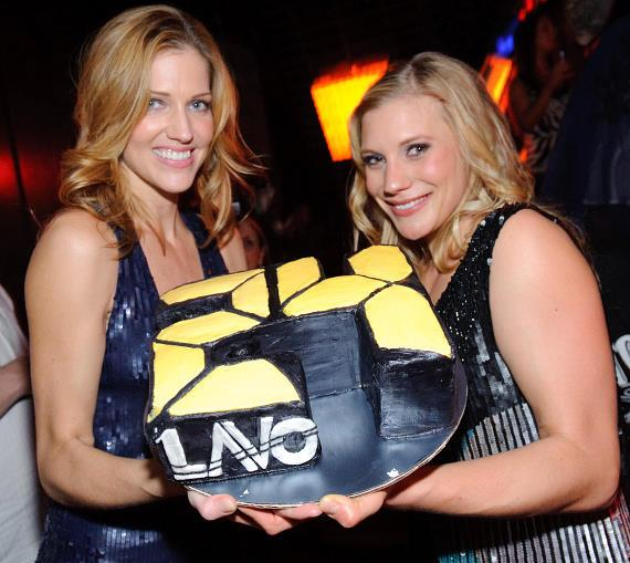 Tricia Helfer helps Katee Sackhoff Celebrate the New Season of 24 at LAVO