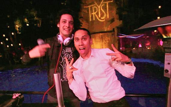 DJ Spider and Taboo at Tryst Nightclub