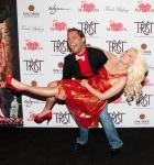 Josh Strickland and Holly Madisonat Tryst