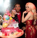 Josh Strickland and Holly Madison at Tryst