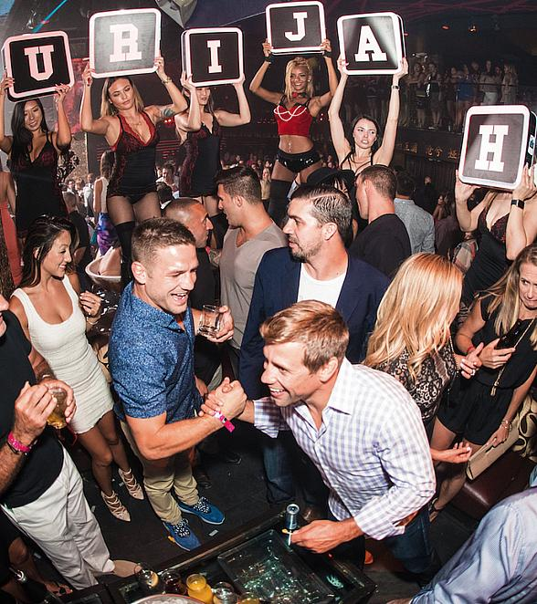 UFC Fighter Urijah Faber Celebrates Recent Induction into the Hall of Fame at TAO Nightclub