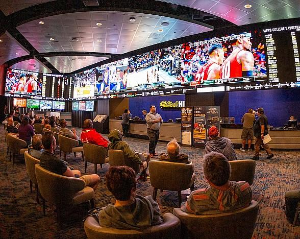 The STRAT Hotel, Casino & SkyPod Celebrates Opening of New William Hill Sports Book