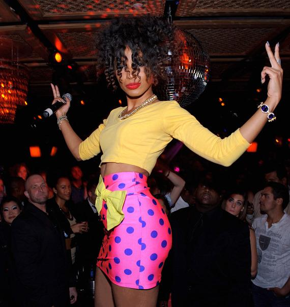 Wynter Gordon at LAVO