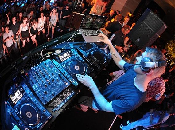 DJ Diplo at XS Nightclub