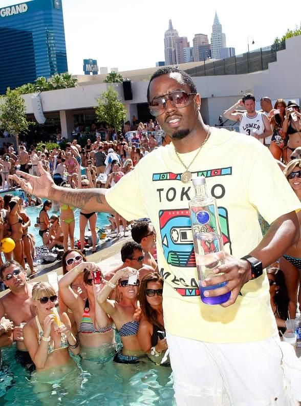"""Sean """"Diddy"""" Combs at WET REPUBLIC"""