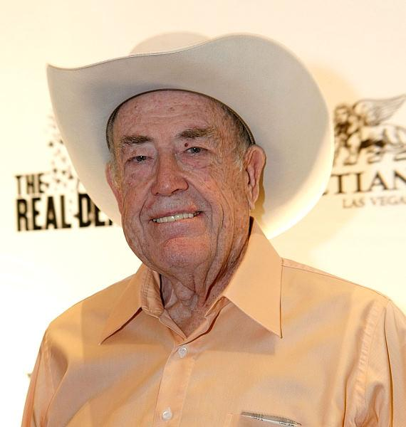 Poker legend Doyle Brunson (Photo by Jacob Andrzejczak, IS Photography)