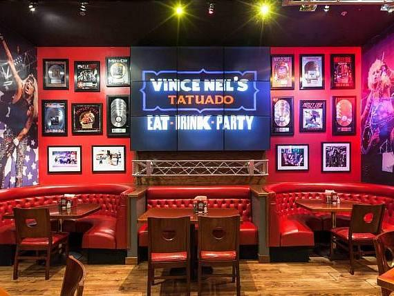 Rock in 2014 at Vince Neil's 'Eat, Drink Party' at Circus Circus