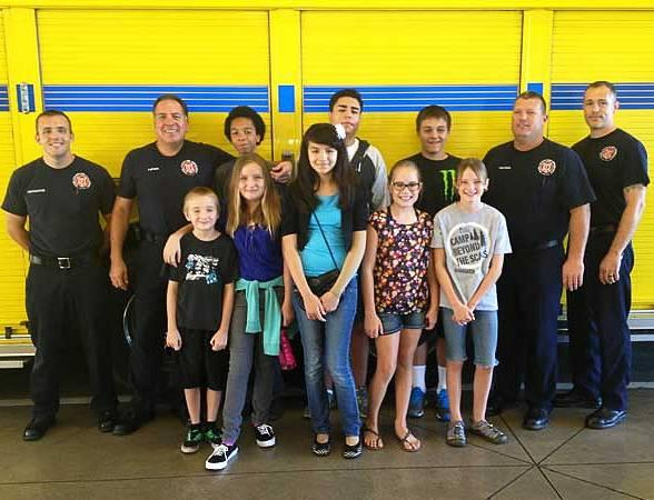 Firefighters of Southern Nevada Burn Foundation to Host Kickoff Event for Burn Camp Attendees and Their Families on July 24