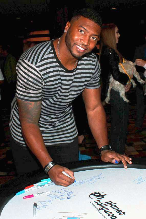 Gerome Sapp at NSPCA Poker Tournament at Planet Hollywood Las Vegas