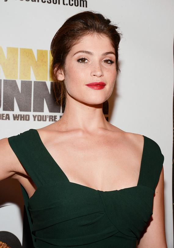 Gemma Arterton at Runner Runner premiere at Planet Hollywood in Las Vegas