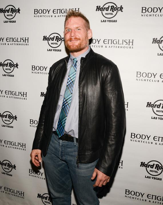 UFC fighter Josh Barnett at UFC 168 After Party at  Body English Nightclub in Hard Rock Las Vegas