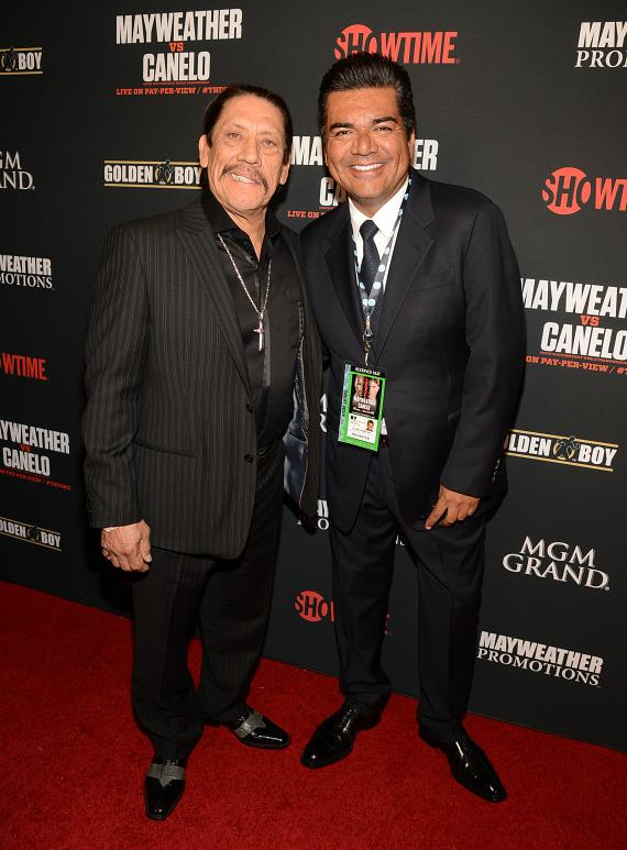 Danny Trejo and George Lopez