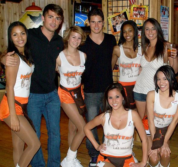 Robbie Amell at Hooters Casino Hotel