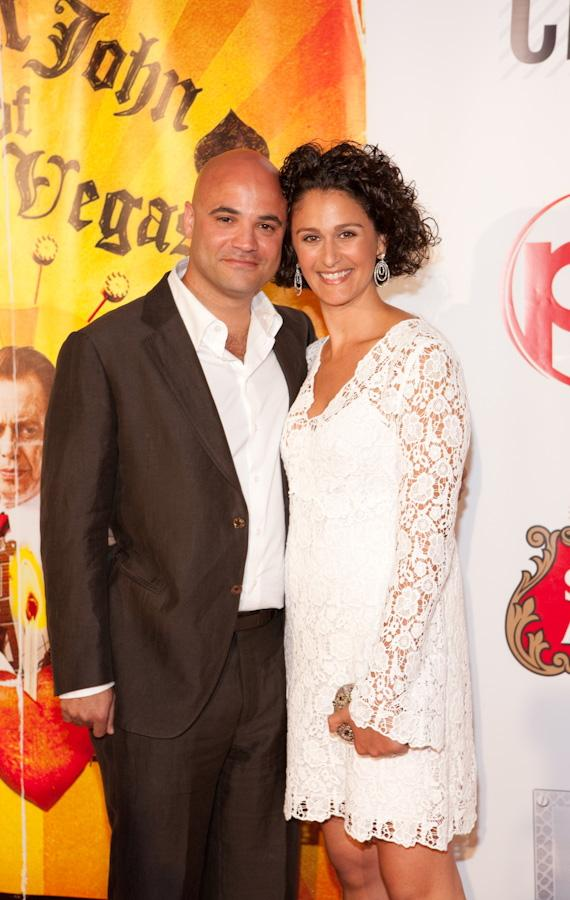 Hue Rhodes and wife Stefanie Rhodes