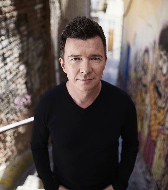 Pop Superstar Rick Astley to perform at The Pearl at Palms Casino Resort January 21, 2017