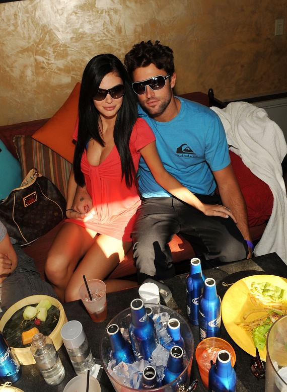 Jayde Nicole and Brody Jenner at TAO Beach