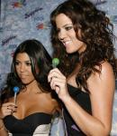 Khloe and Kourtney Kardashioan