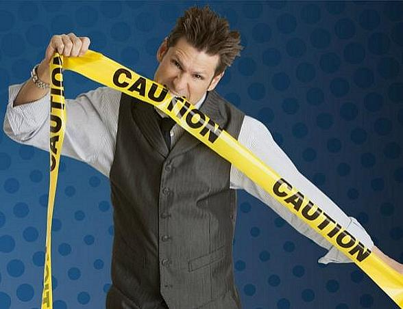 Comedy Magician and Four Queens headliner Mike Hammer