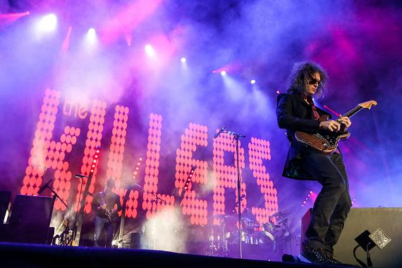 """The Killers make a surprise appearance at """"Life Is Beautiful"""""""