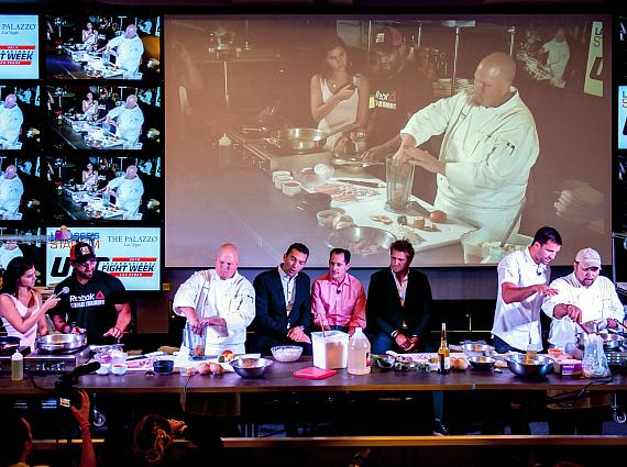 UFC Ultimate Cookoff at Lagasse's Stadium at The Palazzo Las Vegas
