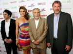 George Maloof, Maria Menounos, CineVegas Chair Dennis Hopper and Danny Greenspun