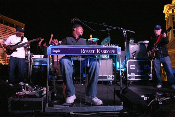 Robert Randolph and the Family Band performs at PURE Nightclub
