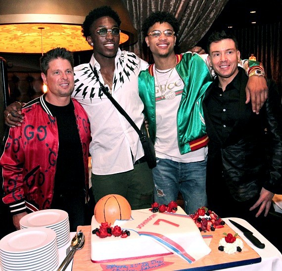 """The Detroit Pistons' Stanley Johnson Celebrates 21st Birthday """"D Style"""" at the D Casino Hotel"""