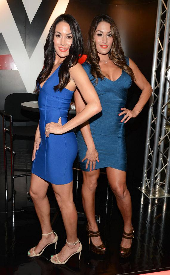The Bella Twins at Licensing Expo