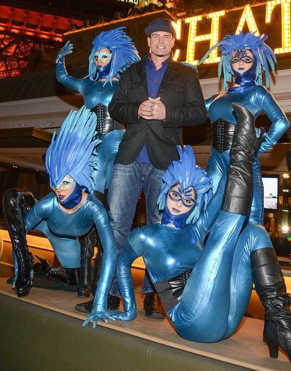 Vanilla Ice with Blue Pixies at Chateau Nightclub and Garden in Las Vegas