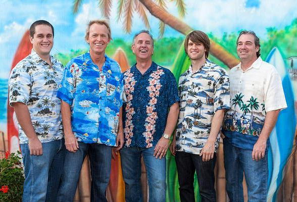 Beach Boys tribute band Woody and the Longboards