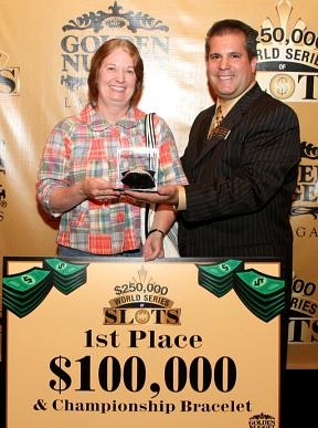 World Series of Slots Winner Michele Leone