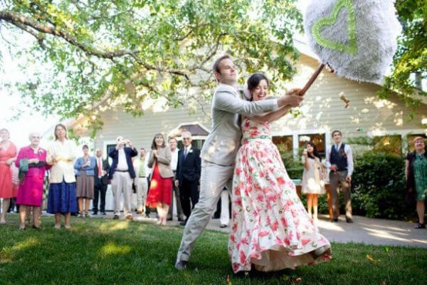 pinata. One-of-a-Kind Wedding