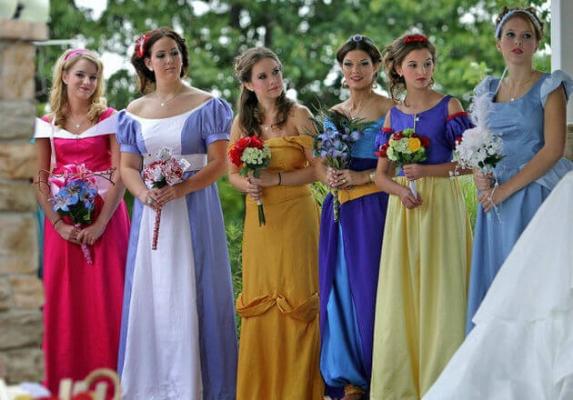 Themed wedding. One-of-a-Kind Wedding