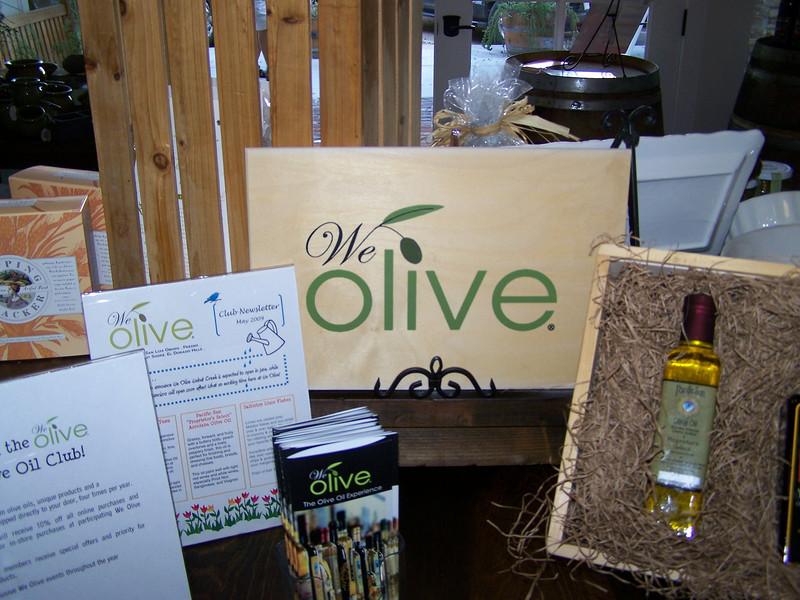 We Olive display