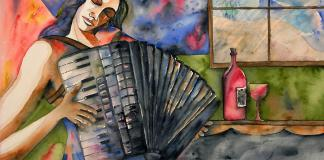 Guri Stark painting