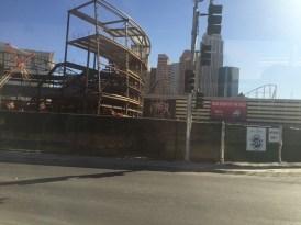 Progress on the stadium